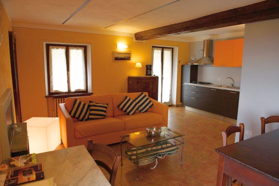 Orange Wohnung