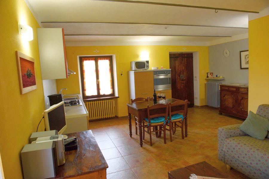 Gelbe Wohnung